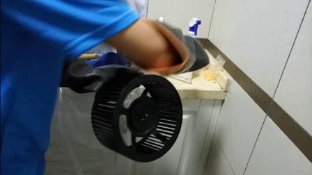 洁家邦油烟机清洗技术教学,油烟机清洗机如何操作油烟机清洗方法
