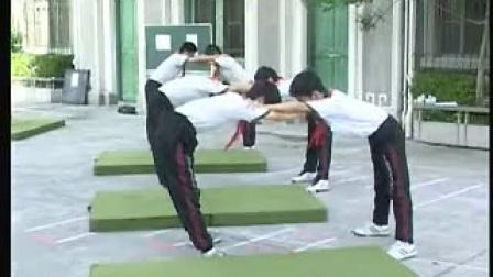 垫上运动-前滚翻_上海初中体育教师说课视频与实