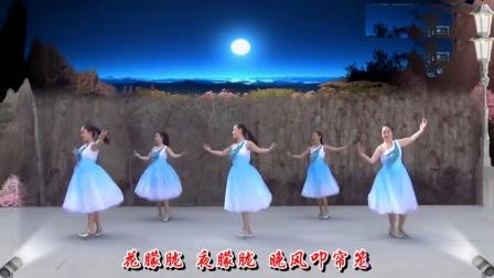 兰州莲花原创广场舞月朦胧鸟朦胧三步舞 附背面教学