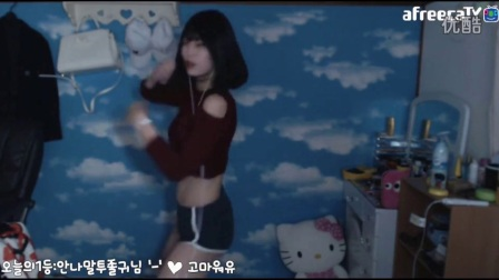 台湾美女主播热舞