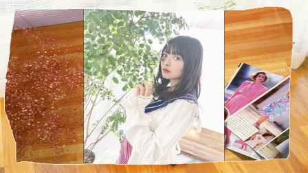 日本美女声优上坂堇最新写真水手服短裙稚嫩可