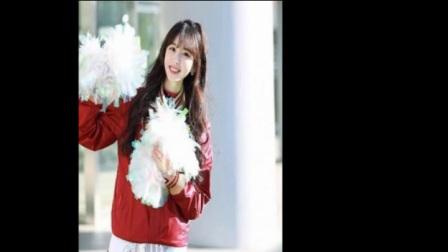 韩国95后啦啦队美女福利照 被赞国民女神大长腿
