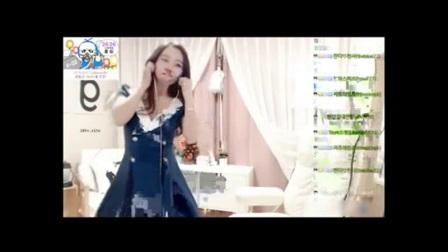 韩国女主播卡哇伊长裙热舞直播