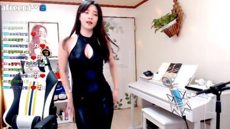 韩国女主播 AOA Cover Dance 这个皮裤受不了.......
