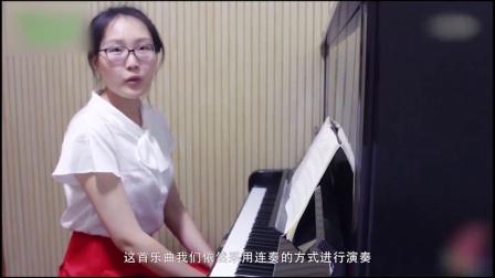 教程步骤钢琴曲婚礼钢琴入门梦中的钢琴钢琴教通柜教学图片