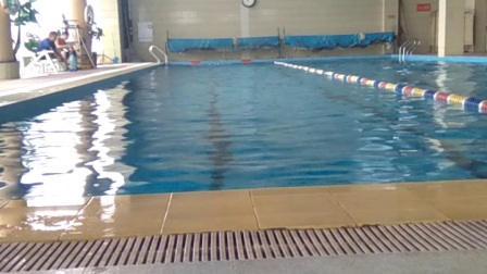 抚顺银河湾游泳馆纠正自由泳和仰泳自拍