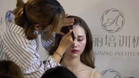 新娘造型圖片77韓式新娘妝培訓