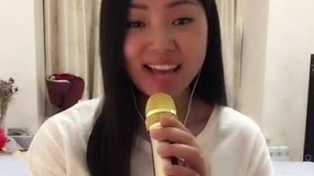 这美女唱歌 真不赖!