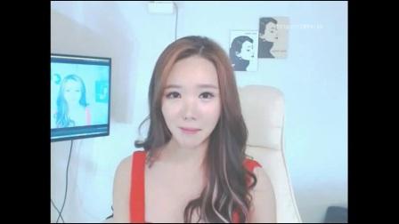 韩国女主播青草红衣泳装热舞