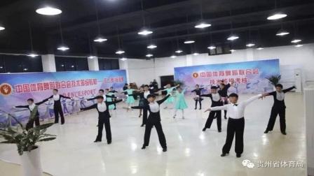 贵州省体育舞蹈运动协会青少年技术等级考核圆