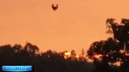 2017怪异的隐形飞碟UFO飞行器