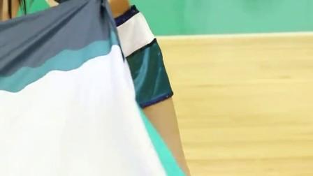 180129 韩国职业篮球联赛 啦啦队美女 김한나 执旗