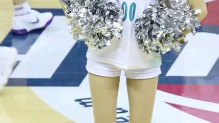 180129 韩国职业篮球联赛 啦啦队美女 안지현 热场