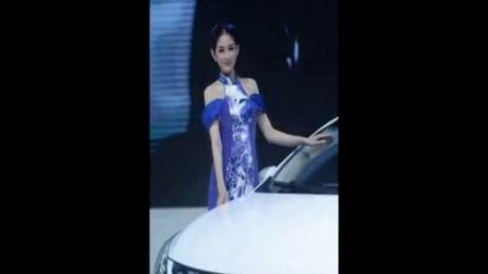 性感美女车模 -陈婉萍 北京车展 漂亮美模 身材不
