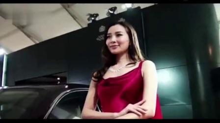 性感美女车模 温州车展 模特 低胸美女性感丰满