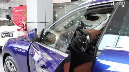 新款玛莎拉蒂莱凡特现车 高清外观内饰图片展示