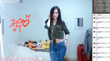 韩国女主播热舞纸巾自备