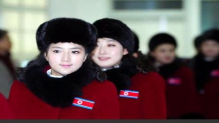 朝鲜美女啦啦队抵达韩国颜值PK韩流女团(图)