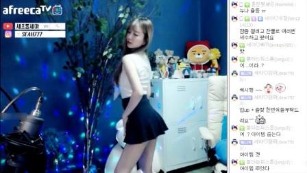 韩国美女主播热舞牛仔