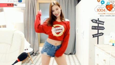 韩国美女主播热舞阿英