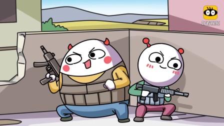 搞笑动画_玩吃鸡遇到外挂_这辈子都不可能吃鸡了