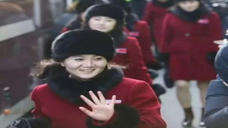 平晶冬奥会一支美女啦啦队颜值很高,引起媒体和