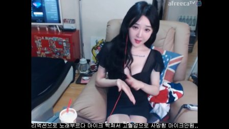 韩国女主播热舞脱
