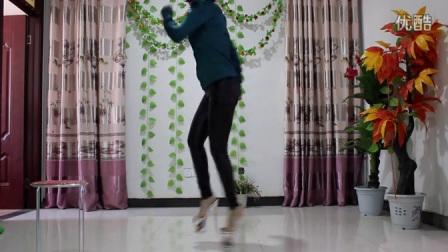 性感美女自拍热舞-水晶高跟鞋鬼步舞经典舞曲〖
