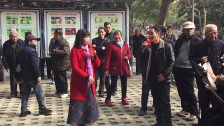20180214,中山公园(越剧祥林嫂)我老六今年活了三十多,江信娣与戏友演唱,甬闻录制《原创,如有雷同均为盗版必究》。