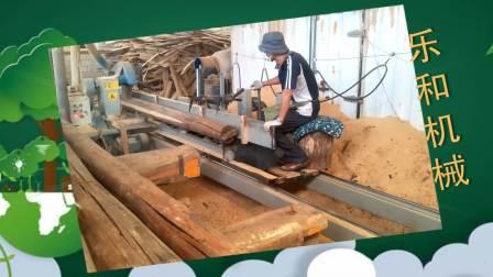 新型推台锯视频原木方木开料锯定制尺寸袅袅婷