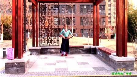 榕城舞魅广场舞 心中红 个人独舞展示