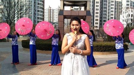 王一丹广场舞 我爱我的祖国 狗年伞舞 美极啦