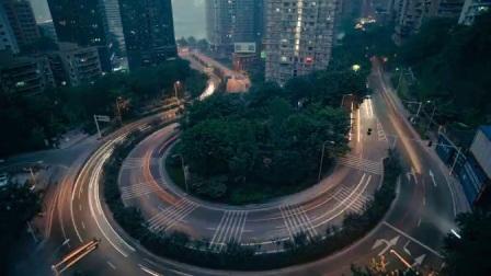 重庆城市高清旅游宣传片延时摄影实拍视频素材