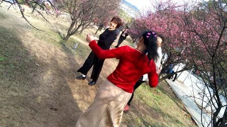 湘潭中路铺拗才村广场舞。大家开心就好。