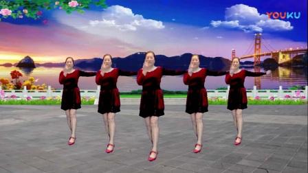 宜阳明萱广场舞 恰恰舞 红尘里和你手牵手 编舞 阿彩