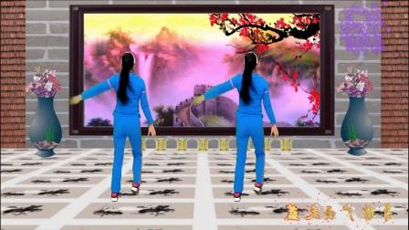 点击观看《蓝天云广场舞 活力健身操 潇洒走一回 舞蹈教学分解视频》
