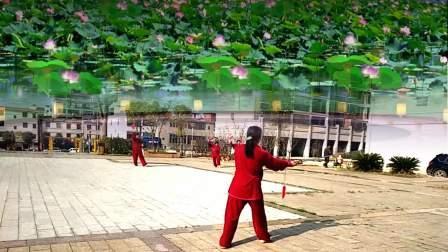 点击观看《高安灰埠太极拳 32式太极剑 演练 付怀英》