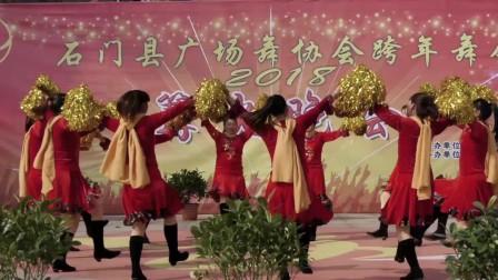 石门县母亲舞协跨年舞魔术是中华广场视频v母亲图片