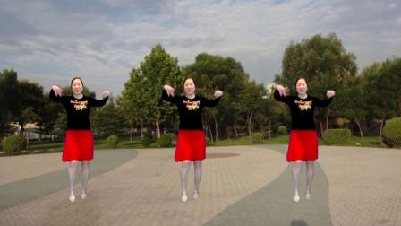 点击观看《宜阳明萱广场舞 向上攀爬 中老年跳这样的舞蹈健身真的是棒棒哒》