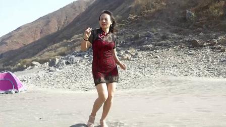 美多多广场舞 沙滩旅游沙滩自由热舞