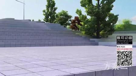 洛阳轨道交通规划设计 万科建筑动画 规划动画