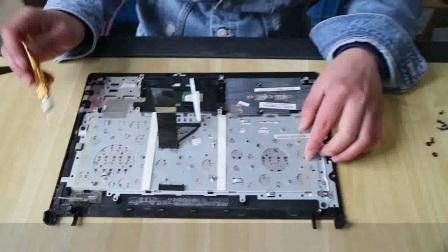 华硕A45V K45V K45VD笔记本电脑拆机教程