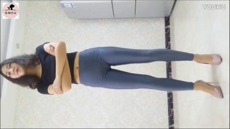 【炫舞世家】芊芊灰色光泽裤热舞手机版美女背