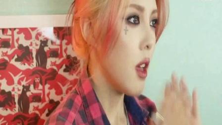 韩国彩妆女神pony化妆视频:pony美妆 清爽街拍妆