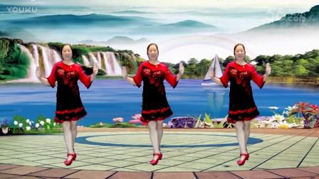 点击观看《32步广场舞 妹妹要过河 好欢快的舞蹈 宜阳明萱广场舞》