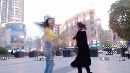 武汉吉庆街,现在跳广场舞的都这么年轻么