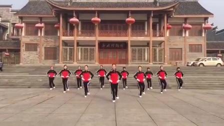 广安梦之队展示北京的金山上