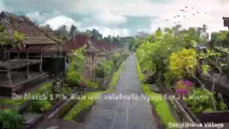 巴厘岛静居节宣传片