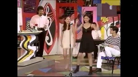 大S和小S早年在综艺节目上的才艺秀, 唱歌跳舞样
