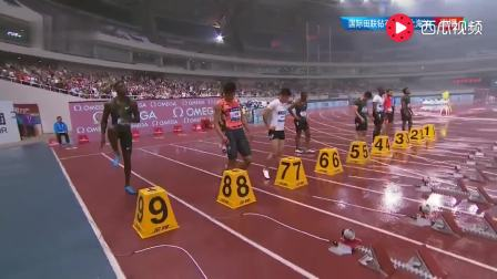 钻石联赛上海站男子100米: 雨战憾负0.01秒 苏炳添